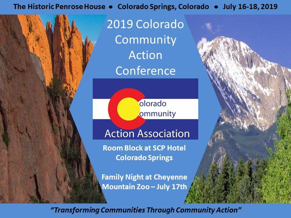 2019 Colorado Community Action Conference Colorado Community Action Association